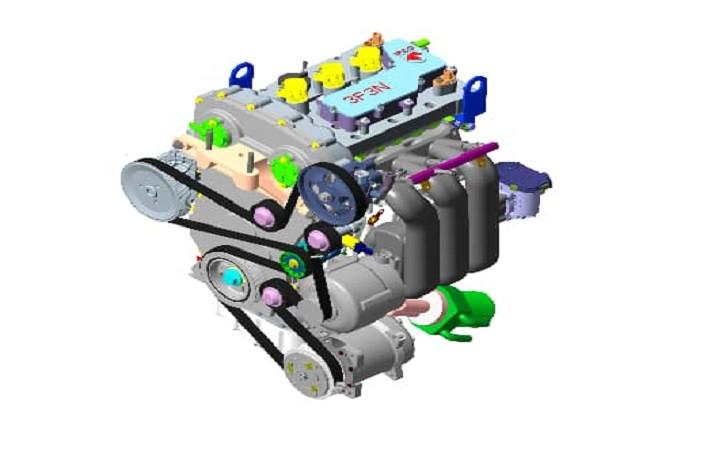 موتور تمامی محصولات تولیدی ایران خودرو تغییر می کند – موتورهای سه استوانه جدید جایگزین موتورهای فعلی